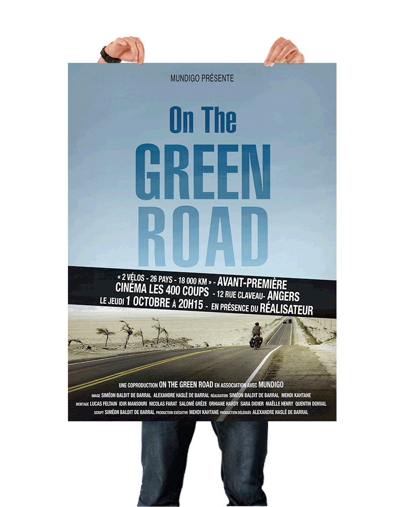 Affiche On the green road